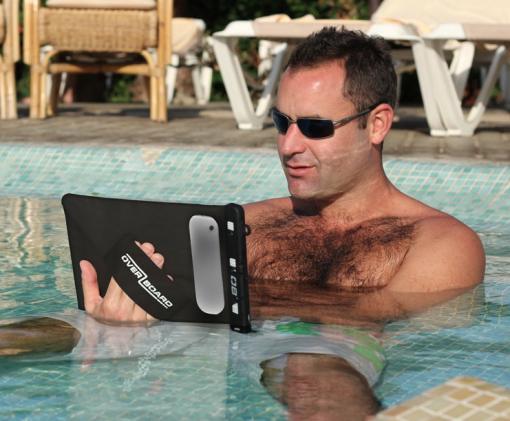 Overboard iPad Hülle wasserdicht 6m 4