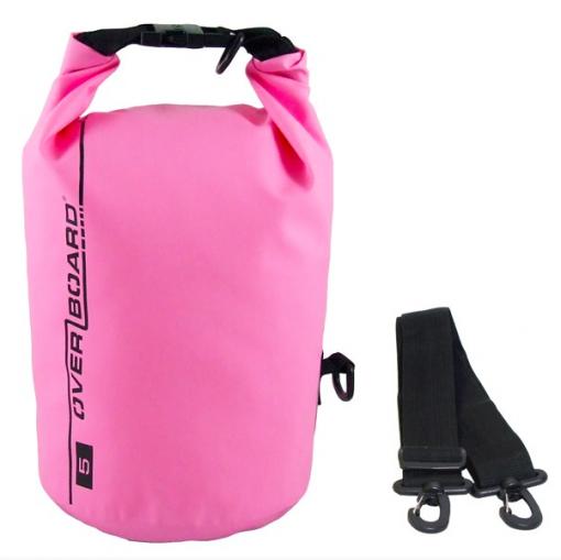 Overboard wasserdichter Packsack pink 5 L