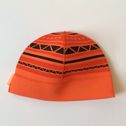 Prolimit Neopren Beanie Striped Orange